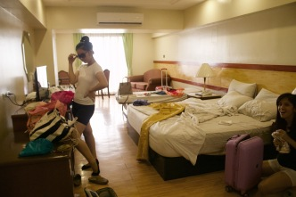 Messy room haha