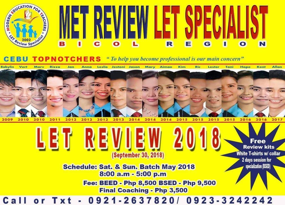 MET - LET Specialist