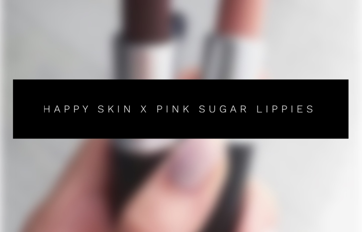 HAPPY SKIN x PINK SUGAR LIPPIES